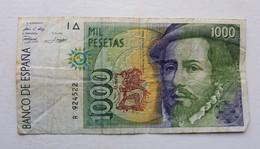 Billet Espagne 1000 Pesetas - [ 4] 1975-… : Juan Carlos I