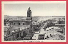 CPSM- Algérie -NEMOURS-Ann.50 - Rue Gambetta Et L'Eglise ** Scan Recto/Verso - Altre Città