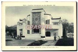 CPA Paris Exposition Internationale Des Arts Decoratifs 1925 Pavillon Des Galeries Lafayette - Tentoonstellingen
