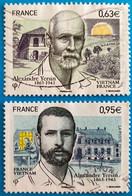 France 2013 : Alexandre Yersin N° 4798 Et 4799 Oblitérés - Usati