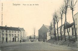 Belgique - Soignies - Place Du Jeu De Balle - Edit. Hoffmann N° 12100 - Soignies