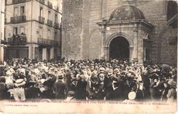 FR66 PERPIGNAN - Labouche - Fête Du Centenaire Des Platanes Le 5 Juin 1910 - Sortie De La Cathédrale - Animée - Manifestazioni