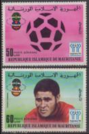 MAURITANIE - Coupe Du Monde De Football 1978 Poste Aérienne - Mauritania (1960-...)