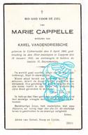 DP Marie Cappelle ° Lichtervelde 1860 † Loppem Zedelgem 1942 X Karel Vandendriessche - Unclassified