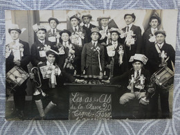 49 LA FOSSE DE TIGNE GROUPE CLASSE 1920 CONSCRITS  CARTE PHOTO - Sin Clasificación