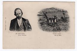 Mr. Hall Caine, Manx Novelist - Greeba Castle - Manx Sun Series 184 - Isola Di Man (dell'uomo)