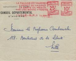 Lille R.P. 1958 - La Maladie Est Rarement L'effet Du Hasard La Sante Se Merite Par Une Bonne Hygiene - BVS - Geneeskunde