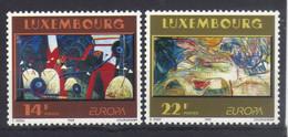 Luxemburg 1993 Europa Modern Art Y.T. 1268/1269 ** - Nuovi