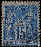 -Sage N°90 Type II  Ob  ( CAD  ) CHAMPIGNEULES  ( 52 ) 1898. - 1876-1898 Sage (Type II)