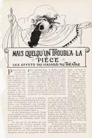 Mais Quelqu`un Troubla La Piece /  Article,  Pris D`un Magazine / 1910/1911 - Unclassified