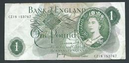 Grande Bretagne - 1 Pound  - CZ18 153767-  Laura 6410 - 1 Pound