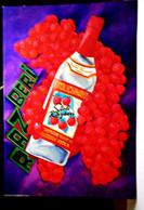 Razberi Stolichnaya Raspberry Flavored Vodka 4x6 Advertising Rack Card Not Posted NM - Pubblicitari