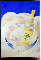 Vanil Stolichnaya Vanilla Flavored Vodka 4x6 Advertising Rack Card Not Posted NM - Pubblicitari