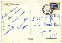PYRENEES ORIENTALES CP 1966 STE MARIE LA MER RECETTE DISTRIBUTION - 1961-....