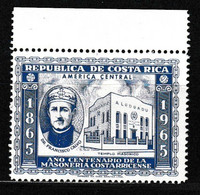 178 : COSTA RICA, Très Rare Bdf** - Freemasonry