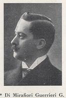 G5247 Ritratto Deputato Di Mirafiori Guerrieri G. - 1924 Stampa - Vintage Print - Stampe & Incisioni
