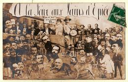 VaV149 ♥️ Carte-Photo BAYONNE Satirique Politique Foire Pain Epices OUVRARD TEILLERY 1914 Euskadi Basses Pyrénées - Bayonne