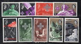 APR2023 - MALTA  , Tre Serie Integre ** MNH  (2380) - Malta