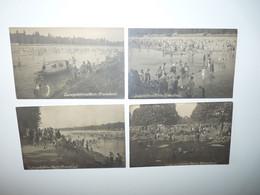 LOT 4 CARTES PHOTOS LUDWIGSHAFEN A. RHEIN STRANDBAD - Ludwigshafen