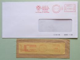 Ospedale Evangelico Valdese Torino (busta), Centre Internat. Recherche Cancer Lyon (framm.), Affranc. Mecc., Ema, Meter - Geneeskunde