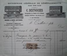 H 4 Facture/document  Déménagements à Quimper - Trasporti