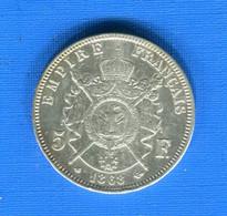 5 Fr  1868 A - J. 5 Francs