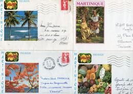 MARTINIQUE  Lot De 8 Enveloppes .. - Other