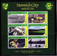 Soccer - Football -  GRENADA - Sheet MNH - Norwich City - Otros