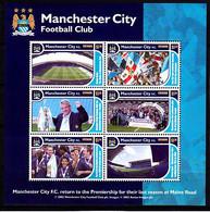 Soccer - Football -  GRENADA - Sheet MNH - Manchester City - Otros