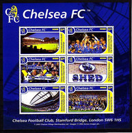Soccer - Football -  GRENADA - Sheet MNH - Chelsea - Otros