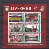 Soccer - Football -  GRENADA - Sheet MNH - Liverpool - Otros