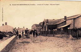 85 - Vendée -  Plage De BRETIGNOLLES - Avenue De La Plage - Villa Des Vagues - Bretignolles Sur Mer