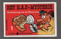 Mini Strip De Ruijter Speurneus Hagelmans Het H.A.P.-mysterie 1 Verdwijning Van De Mona LIsa (Berck Cauvin) 1986 - Andere
