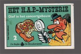 Mini Strip De Ruijter Speurneus Hagelmans Het H.A.P.-mysterie 2 Dief In Het Concertgebouw (Berck Cauvin) 1986 - Andere
