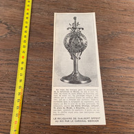 Années 20 PATI Reliquaires De Saint Albert Cardinal Mercier Frères Devroye - Collections