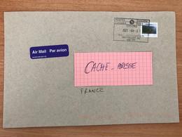 Lettre Lettre For Pour La France Cover Canada International 04 01 2021 Succ Westmount Post - Storia Postale