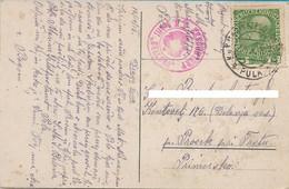 "AK POSTCARD WW1  AUSTRIA K.U.K. KRIEGSMARINE - S.M.SCHIFF "" BELLONA "" K.U.K. MARINEFELDPOSTAMT POLA - VG. 1916 -  P25 - Guerra"