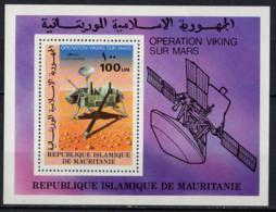 MAURITANIE - Opération Viking Sur Mars Feuillet - Mauritania (1960-...)
