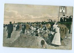 T5745/ Cuxhaven  Strand Bei Der Kugelbaake AK Ca.1910 - Unclassified