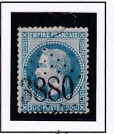GC 3880 SAINT VALERY SUR SOMME ( Dept 76 Somme ) S / N° 29 - 1849-1876: Classic Period