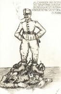 CPA - WW1 WWI Propaganda Propagande - M. SIPOER - Umoristica Satirica, Humour Satirique - NV - PV467 - Oorlog 1914-18