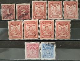 PHILIPPINES - 1899 Occupation Américaine - TAXE 11valeurs Dont 8 * / 3 O (voir Scan) - Philippinen