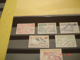 FRANCE  ANNEE1953  NEUFS  N° YVERT 960 A 965  SERIE COMPLETE 6 VALEURS   JEUX OLYMPIQUES D'HELSINKI (1952) - Collections (without Album)