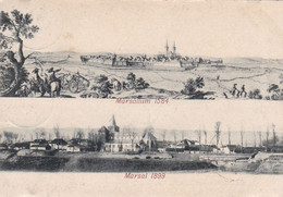 MARSAL - MOSELLE - (57) -  PEU COURANTE CPA DE 1899. - Other Municipalities
