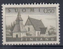 ++M1513. Finland 1963. AFA 572A. MNH(**). - Nuevos