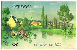 94  PENSEES  DE  CHOISY  LE ROI  CPM  TBE  VR922 - Choisy Le Roi