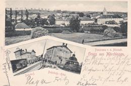 MÖRCHINGEN - MORHANGE - MOSELLE -  (57) - CPA MULTIVUES DE 1898. - Morhange