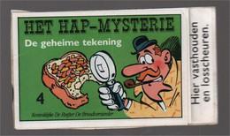 Mini Strip De Ruijter Speurneus Hagelmans Het H.A.P.-mysterie 4 De Geheime Tekening (Berck Cauvin) 1986 - Andere
