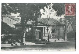 12 Villefranche De Rouergue, L'entrée Du Collège (5464) - Villefranche De Rouergue