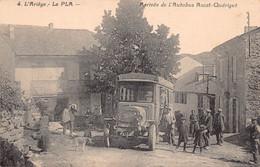 09 - ARIEGE - LE PLA - Arrivée De L'AUTOBUS - Ascat-Quérigut - (10028) Voir Scans Recto Verso - Other Municipalities